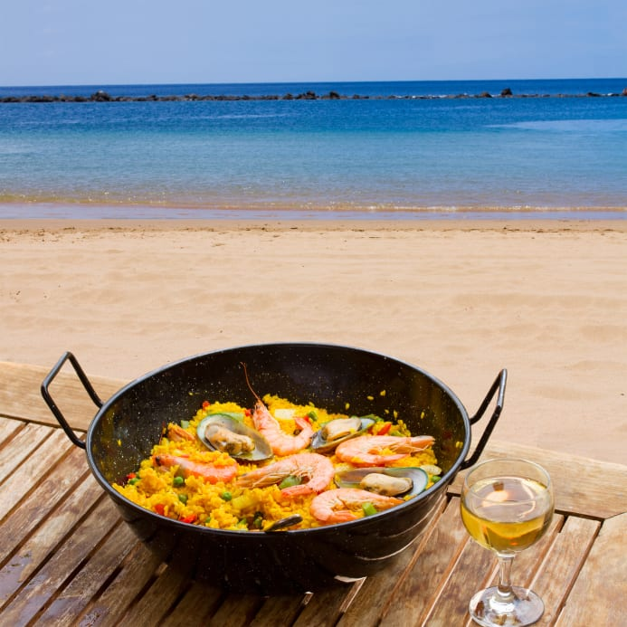 Try delicious Spanish foods when teaching English in Spain