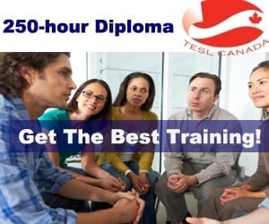 TESOL certification courses in Canada