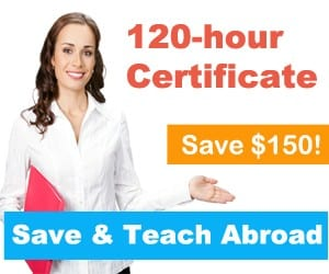 TESOL courses for teaching English abroad