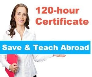 120-hour TEFL certificate