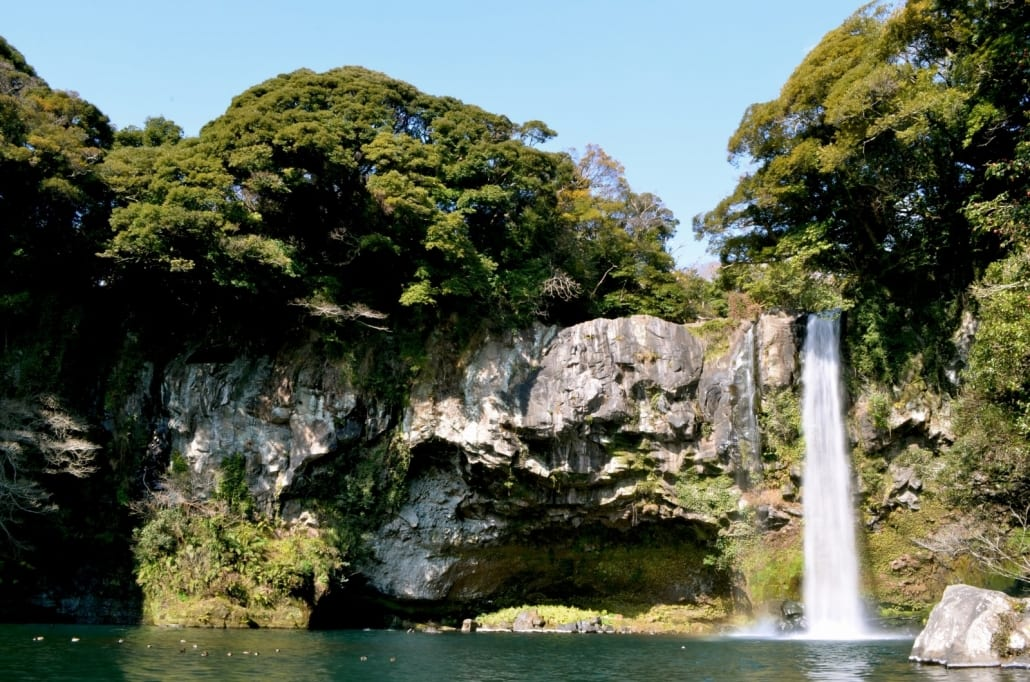 Visit Jeju Island if you are teaching English in South Korea