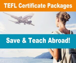 TEFL certificate course online and certification