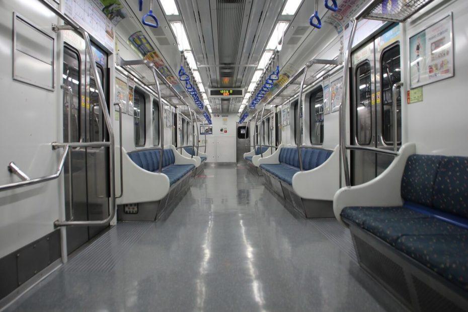 south korea subway train
